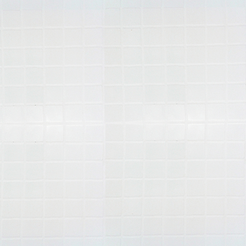 White Small Gloss Tile Effect Wall Panel by Multipanel